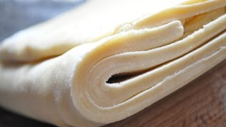 How to make puff pastry Express in 8 minutes!