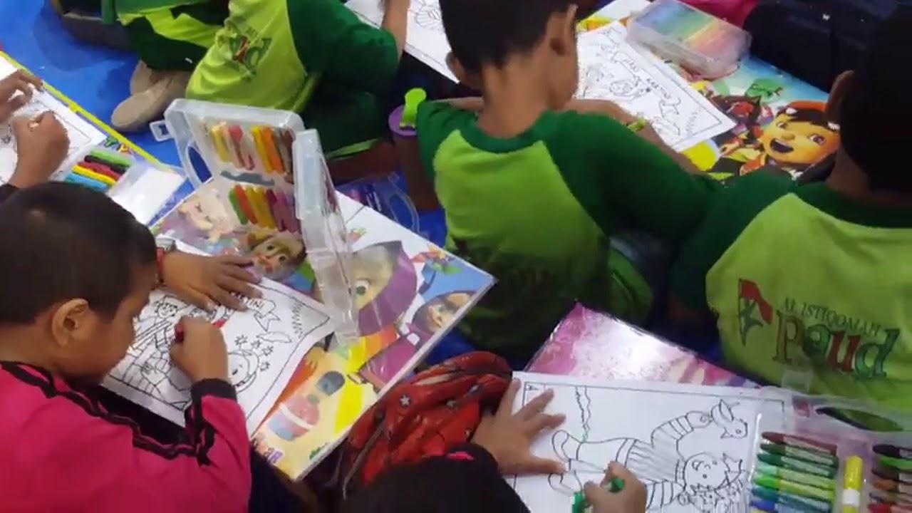 Lomba Mewarnai Hari Kartini Di Ramayana Bsd Tangerang Youtube