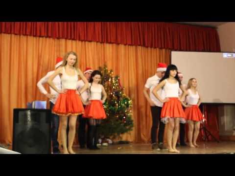 Танец на новый год10А