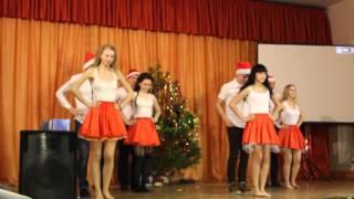Танец на новый год(10А)