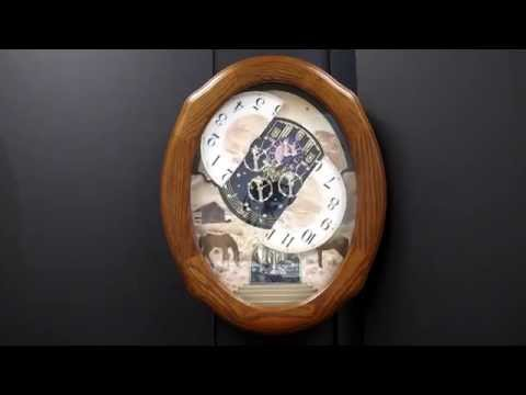 AMERICANA AMERICAN PRARIE RHYTHM Musical Clock 4MH860WU06
