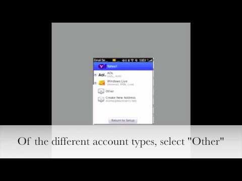 Configure VU Gmail For Blackberry