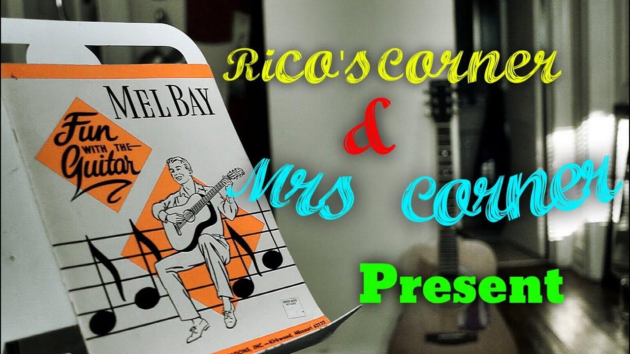 Rico Mrs Corner Present Mel Bay Fun With The Guitar Album Promo