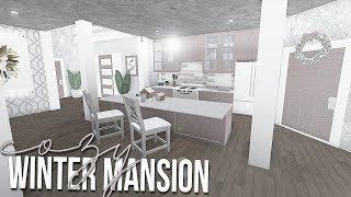 ROBLOX | Bloxburg: Cozy Winter Mansion 110k