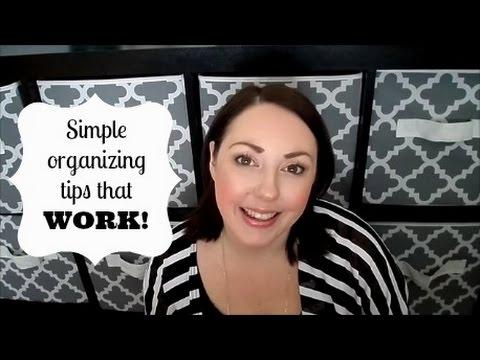 Organizing Tips For Moms!