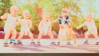 Jaran Goyang Upin Ipin Funny Baby