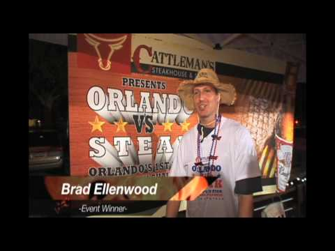 Orlando Vs Steak 2009 Orlandos First Ever Steak Challenge Youtube
