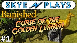 Banished Colonial Charter 1.4 Part 1 ► Curse of the Golden Llama ◀ Gameplay / Tips