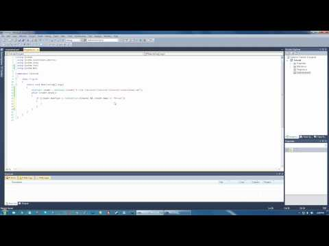 Reading XML with XmlReader - C# C Sharp Visual Studio 2010