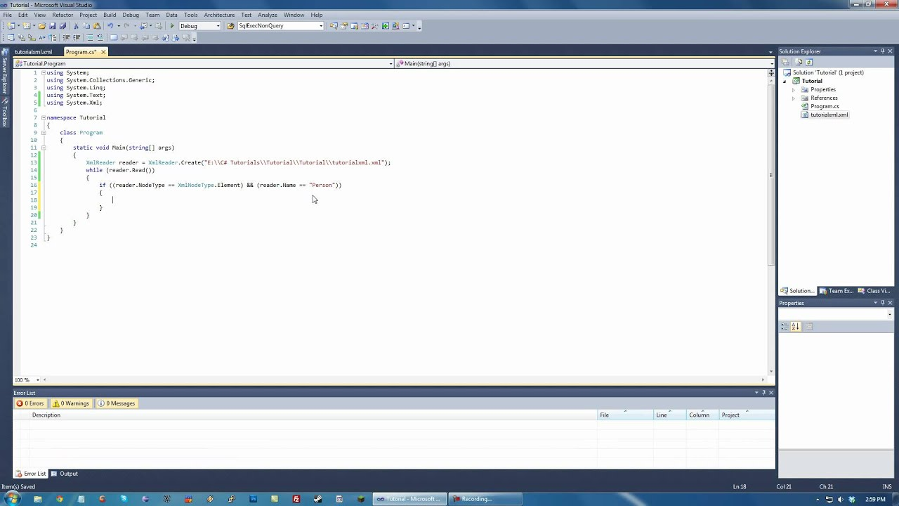 Parse xml in c# with xmlreader for multiple similar nodes stack.