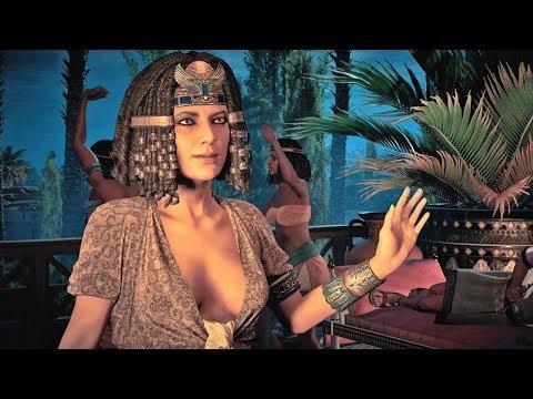 Assassin's Creed Origins #09: Cleópatra Piriguete + Easter Egg do Killer Croc