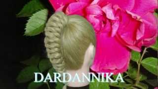 видео Длинная коса – особенности прически