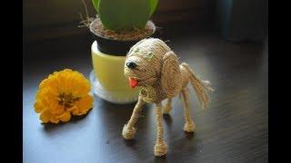 оригинальная игрушка собака своими руками на новый год 2018