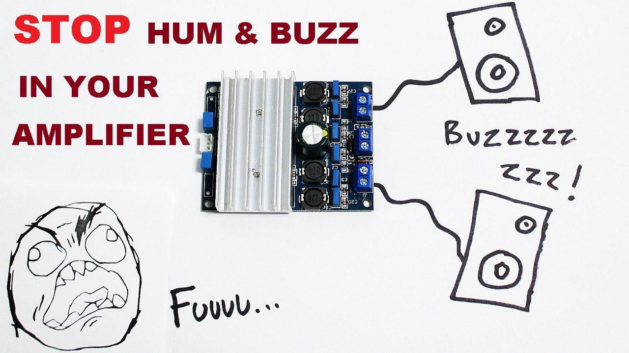 small resolution of stop hum and buzz in your amplifier projects