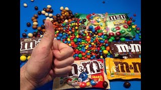 M&M's Collection Candy Unboxing - Which M&M's are the best ❤