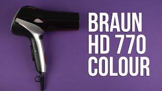 Розпакування BRAUN HD 770 Colour