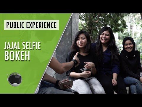 Tantangan Selfie Bokeh - Public Experience
