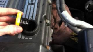 Ford Sierra 2.0 EFi DOHC engine