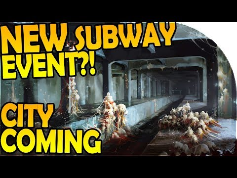 NEW SUBWAY EVENT / LOCATION + CITY INBOUND?! - Last Day On Earth Survival 1.6.4 Update