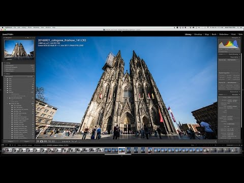 My Complete Adobe Lightroom Editing Workflow From The FroKnowsPhoto Show Germany