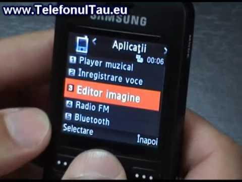 Samsung E590 Hand On - www.TelefonulTau.eu -