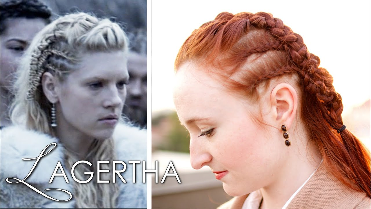 Turbo Vikings Hair Tutorial - Lagertha as Earl - YouTube QQ02