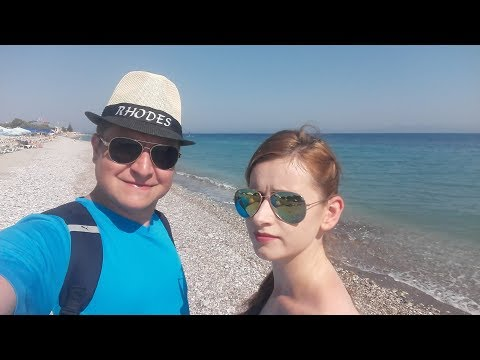 Grecja RODOS  - wakacje Ani i Michała - 10.07.2017