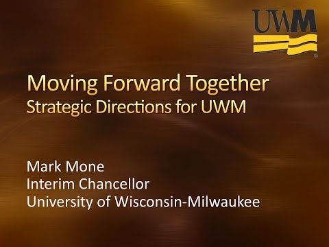 UWM Interim Chancellor Mone addresses the Board of Regents 2014