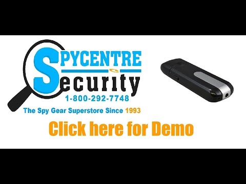 Flash Drive Hidden Micro Spy Camera - Review