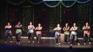 Semi-classical fusion dance - Dil mera muft ka, Mashallah, Marjaani and Chhamak challo