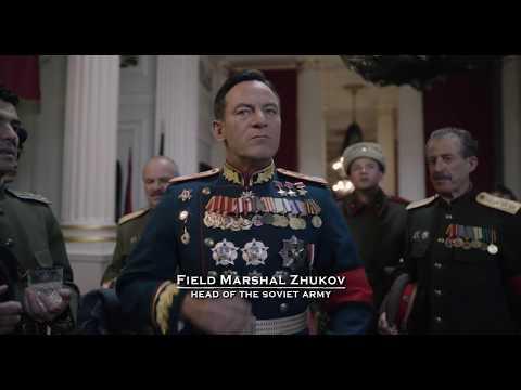 Zhukov Schukow in The Death of Stalin 2017
