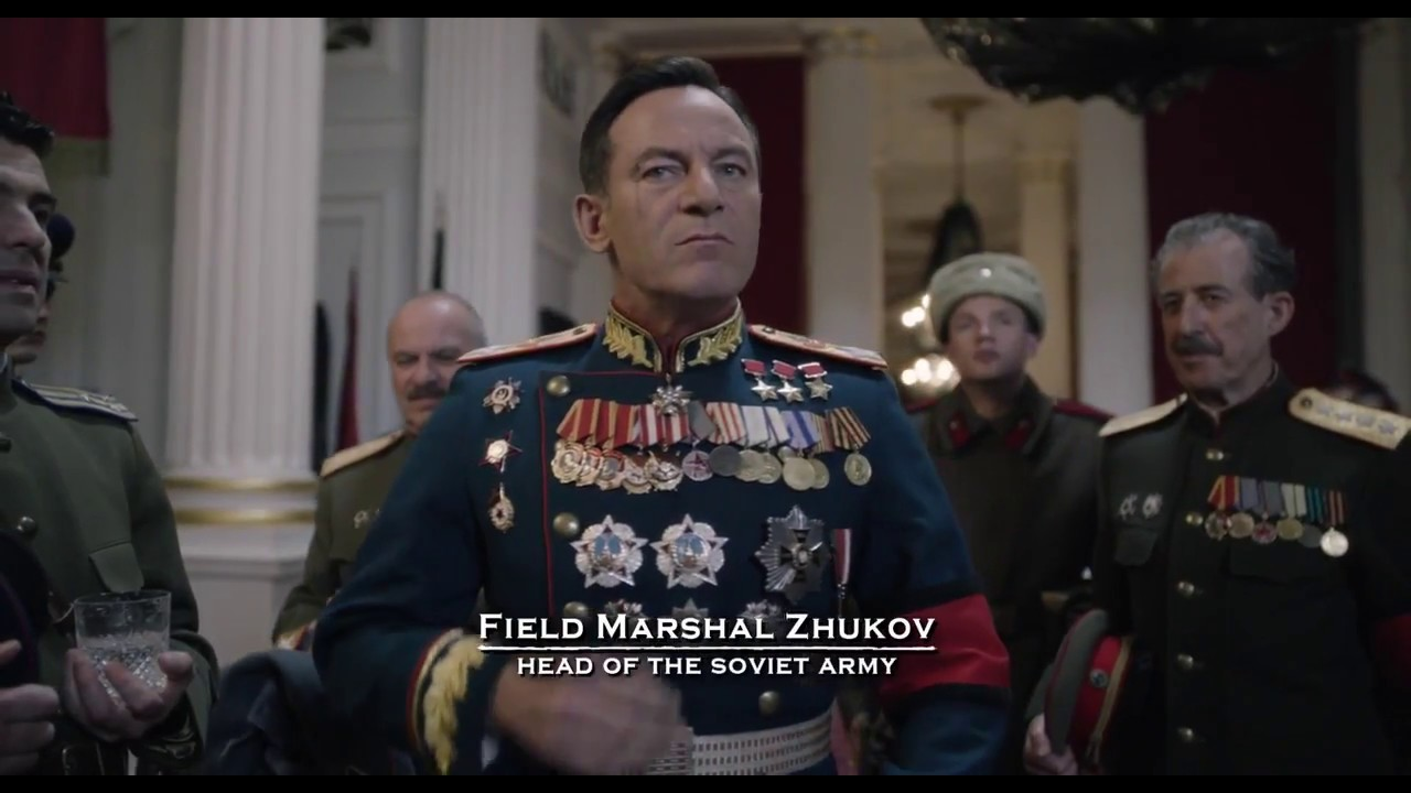 Zhukov Schukow in The Death of Stalin 2017 - YouTube