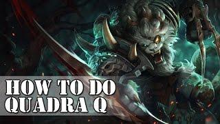 Rengar Tips and Tricks - Quadra Q - How to do(Pre Season 5) 20…