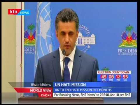 UN Security Council tour Haiti