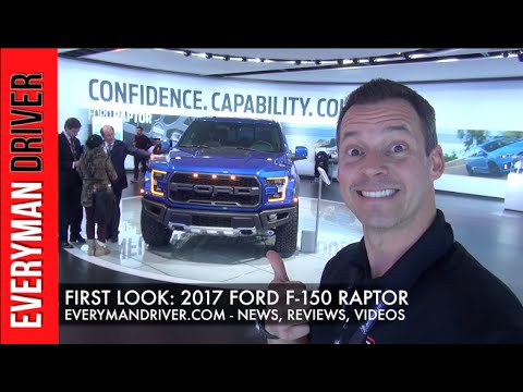 Here's the 2017 Ford F-150 Raptor on Everyman Driver