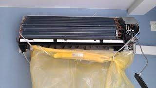 Очистка внутреннего блока сплит-системы Haier(, 2015-06-27T21:17:38.000Z)