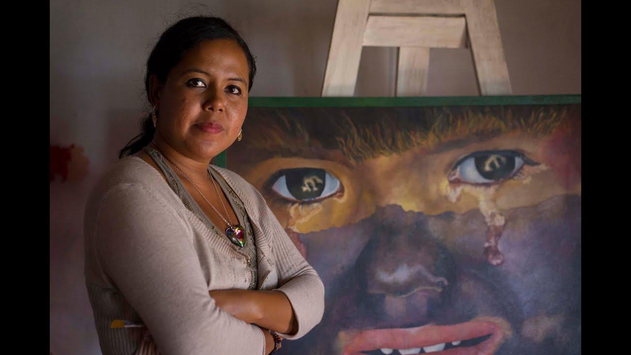Max Ruiz >> Pintores nicaraguenses 1 Karen Ruiz - YouTube