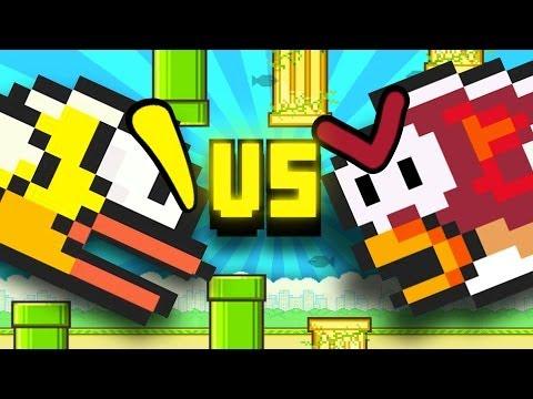 Flappy Bird Vs. Splashy Fish