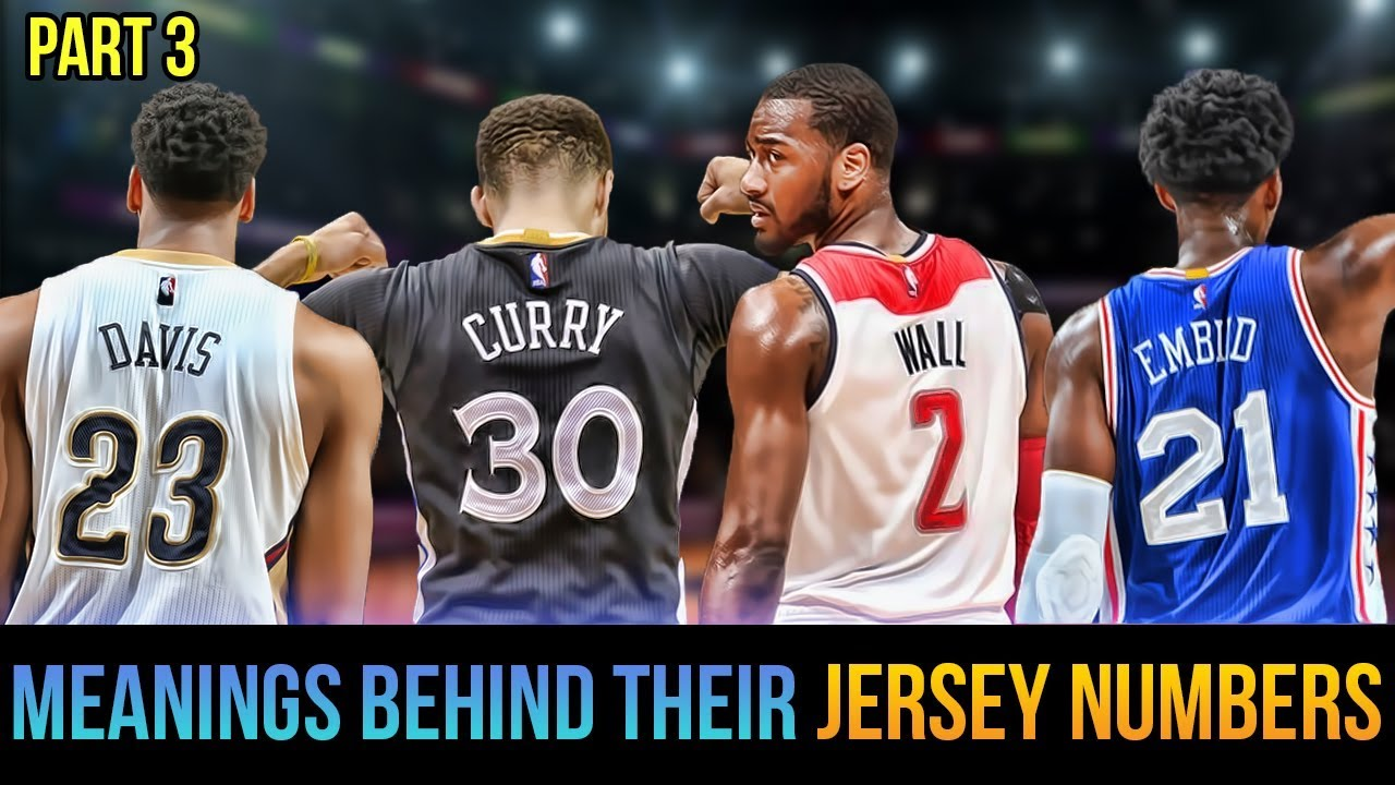 Meanings Behind Jersey Numbers Of Nba Superstars Curry