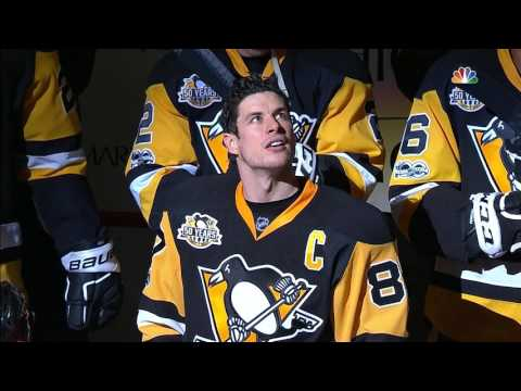 Penguins honour Crosby for reaching 1000 career points