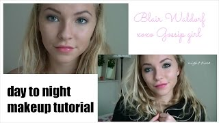 Day to night Blair Waldorf inspired makeup tutorial Thumbnail