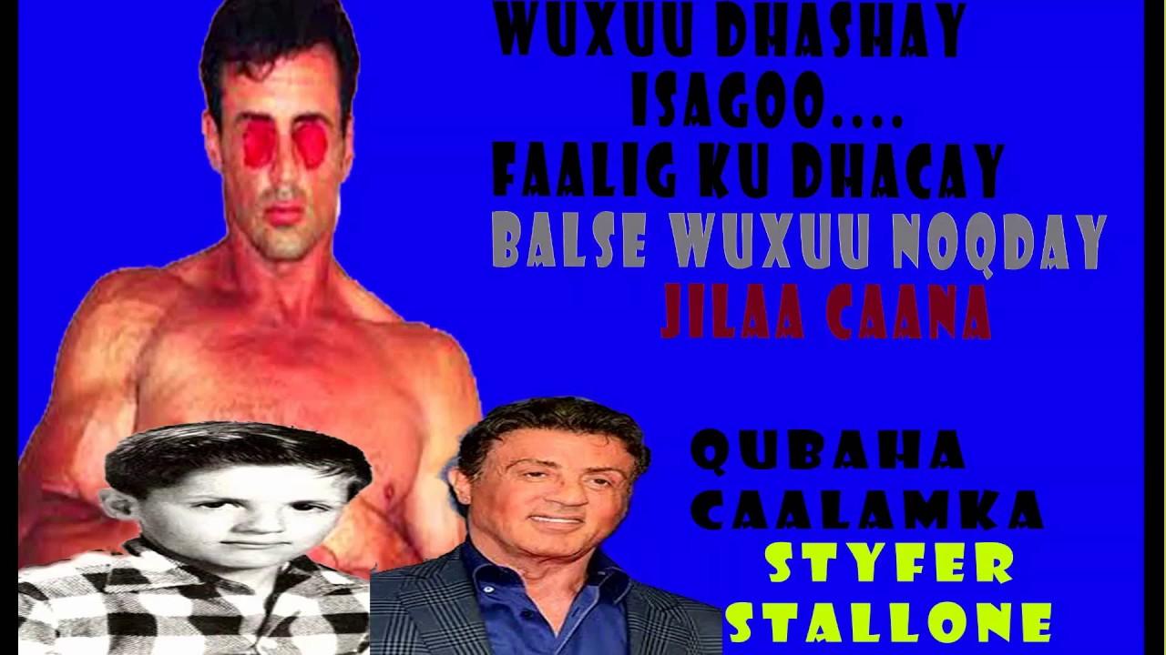 Download Wuxuu dhashay isagoo faalig ku dhacay wajigiisa ,,Balse wuxuu noqday Jilaaga ugu  caansan maraykanka