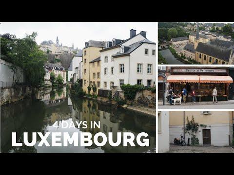 Luxembourg travel vlog | Hayley Warren