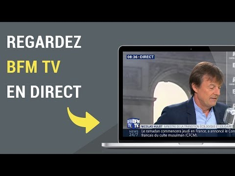 Comment Regarder BFM TV En Direct Sur Internet ?