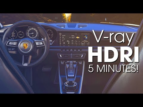 How To Use HDRI In Vray 3ds Max