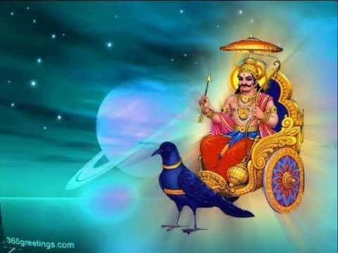 SHANI DEV MANTRA -Om Sham Shanicharaya Namah