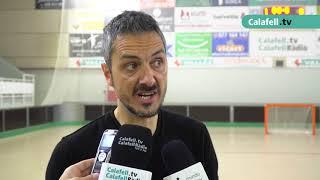 Resum CP Calafell 2-FC Barcelona 3