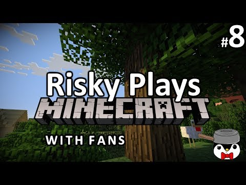 Risky Plays Minecraft With Fans Season 2 Ep  #8 This Is A Tragedy