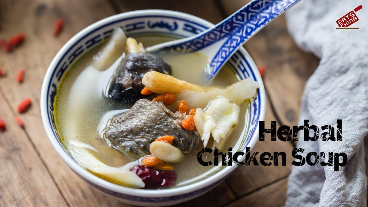 Herbal Chicken Soup (药膳鸡汤)