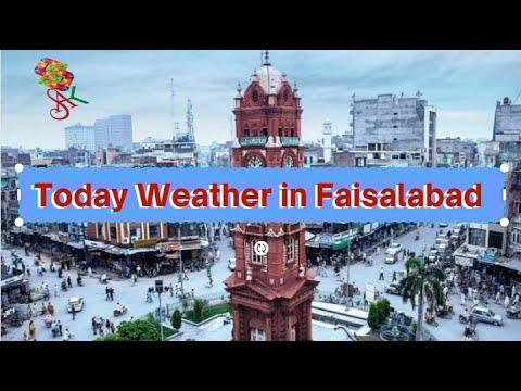 Today Weather in  Faisalabad, Punjab, Pakistan